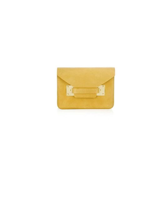 "<p>Sophie Hulme mini envelope bag, £248, at <a href=""http://www.matchesfashion.com/product/127297"">Matches Fashion</a></p>"