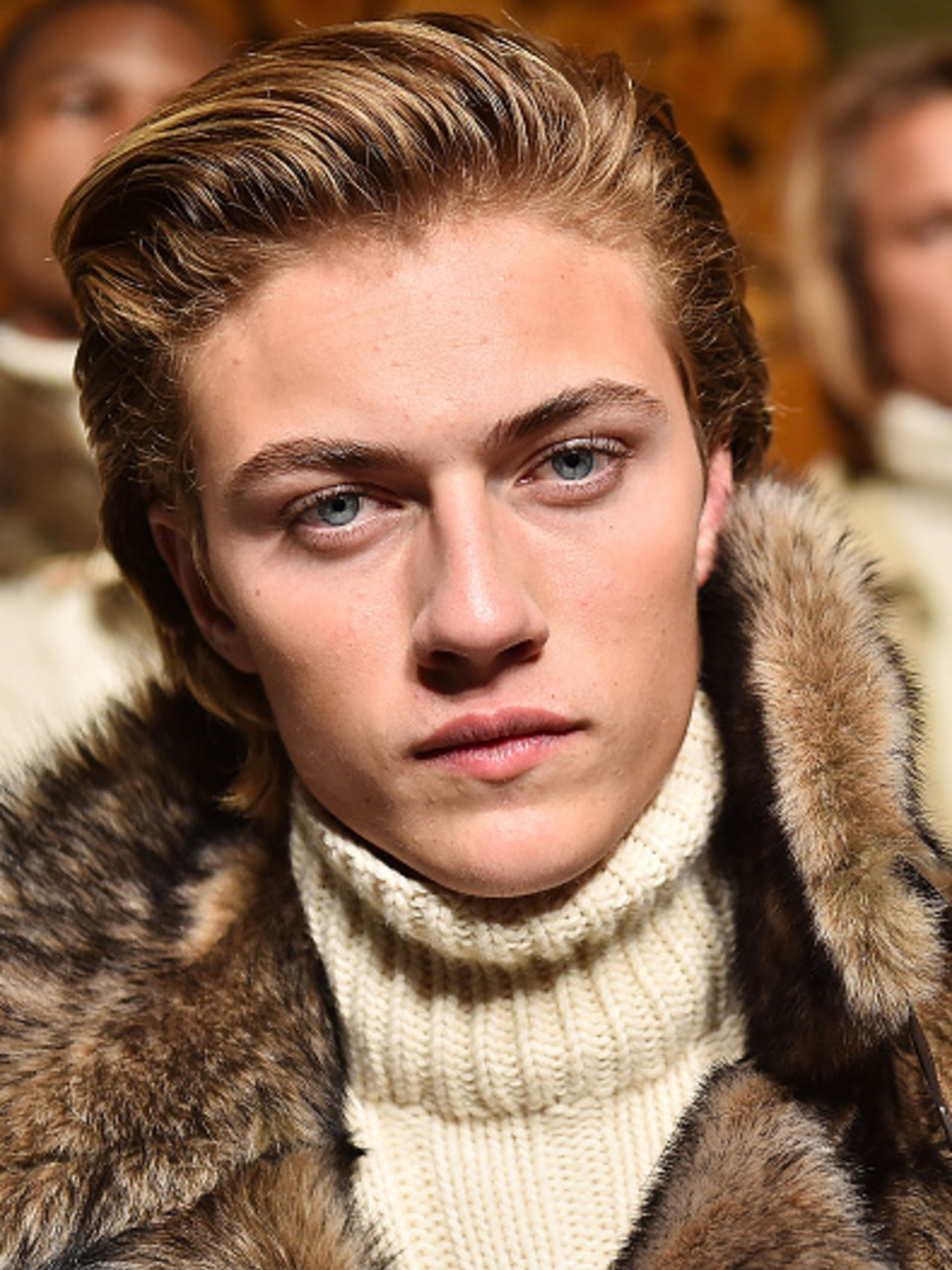 Lucky Blue Smith Wins Male Model Of The Year At The Elle Style