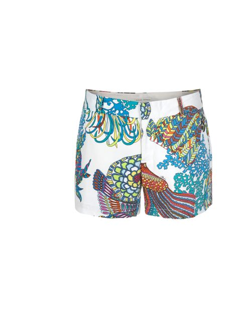 "<p>Inject some tropical spirit into your wardrobe courtesy of Tina Turk's capsule collection for Banana Republic… Trina Turk for Banana Republic printed city shorts, £35, at <a href=""http://bananarepublic.gap.eu/"">Banana Republic </a></p>"