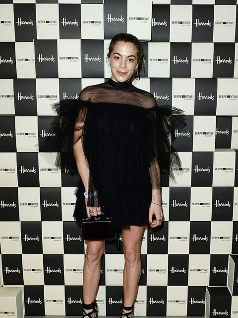 Chelsea Leyland attends the Serpentine Gallery and Harrods Future Contemporaries during London Fashion Week AW16