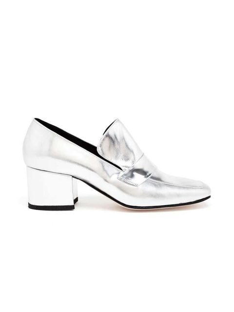 "<p>This shoe newcomer (shoecomer?) is our latest obsession. Check out their off-beat ankle boots, too...</p>  <p>Dorateymur loafers, £365 at <a href=""http://www.brownsfashion.com/product/LS3D52810005/142/turbojet-metallic-leather-loafers"" target=""_blank"">"