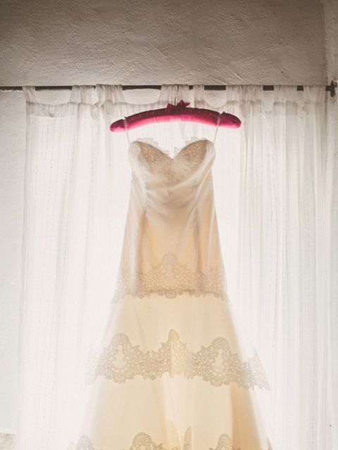 """<p>My wedding dress was by <a href=""""http://www.jlmcouture.com/Tara-Keely"""" target=""""_blank"""">Tara Keely</a>, which I purchased at <a href=""""http://www.morgandavieslondon.co.uk/"""" target=""""_blank"""">Morgan Davies</a> in London.</p>"""