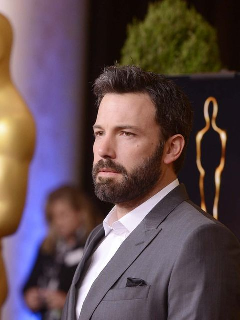 <p>Ben Affleck attends the Academy Awards luncheon in Hollywood, February 2013.</p>