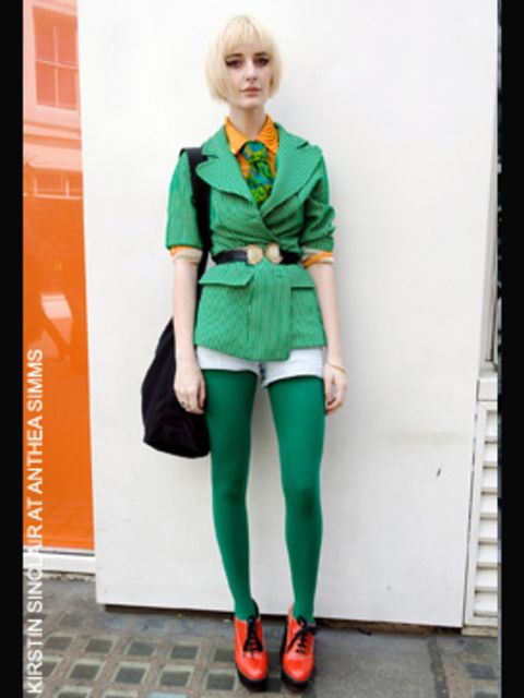 <p>Madeleine, student from Melbourne</p><p>-<strong> Entire outfit</strong> all vintage</p><p>- <strong>Shoes</strong> from Chloe</p>