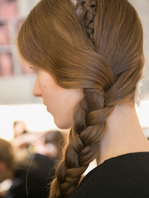 "<p>Hair Stylist: Malcolm Edwards for Moroccanoil </p><p>Look: Intricate braids</p><p>Inspiration: Sexy bohemians</p><p>Key Product: <a href=""http://www.lookfantastic.com/moroccanoil-curl-control-mousse-150"