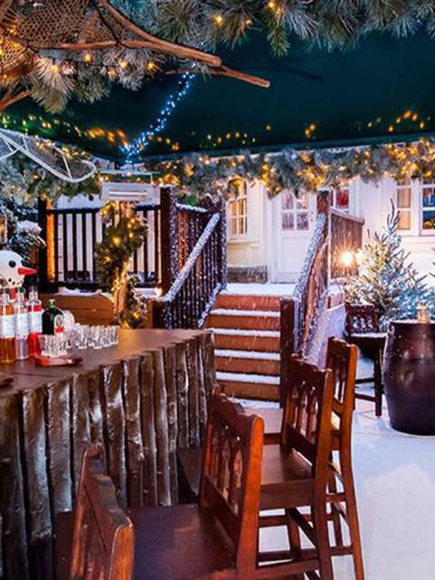 <p>DRINK: Ski Lodge at the Montague</p>  <p>Throwing yourself down a mountain on a pair of sticks is all well and good, but everyone knows skiing is really all about the après. Which is why we love this festive pop-up at The Montague, which dispenses with
