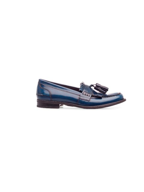 """<p>Complete all your new season buys with a pair of classic, mannish loafers. Perfect for the office or the pub, we're heading to Kurt Geiger for ours… <a href=""""http://www.kurtgeiger.com/women.html"""">Kurt Geiger</a> 'Montgomery' navy loafers, £160</p>"""