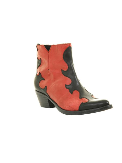 "<p>Office black and red leather cowboy boots, £80</p><p><a href=""http://shopping.elleuk.com/browse?fts=office+denby"">BUY NOW</a></p>"