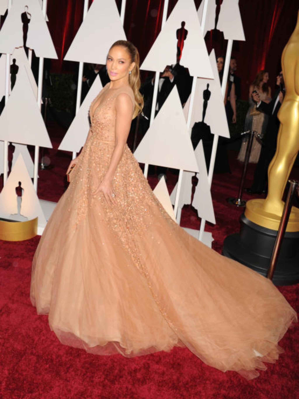#2 - Jennifer Lopez in Elie Saab