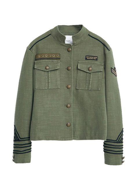 "<p><a href=""http://shop.mango.com/GB/p0/women/new/military-style-jacket/?id=51063673_37&n=1&s=nuevo&ident=0__0_1439804849843&ts=1439804849843"" target=""_blank"">Mango</a> jacket, £69.99</p>"