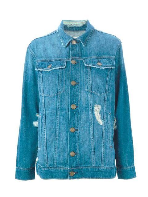 "<p><a href=""http://www.farfetch.com/uk/shopping/women/CurrentElliott-distressed-denim-jacket-item-11095633.aspx?gclid=CjwKEAjwjMauBRDH-bOCo56b13wSJABA2-HvamelFYYujq8JJE1c25IPCmjpmvT5TofCTTCl4fMdChoCV4fw_wcB&ef_id=VFvI@QAABaSEFUTf:20150817101516:s"" target="
