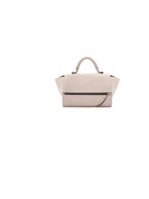 "<p>Are you getting as carried away with <a href=""http://www.zara.com/uk/en/woman/handbags/leather-citybag-with-foldover-flap-c269200p1467024.html"">Zara</a>'s tote bag as we are? Thought so... £149</p>"