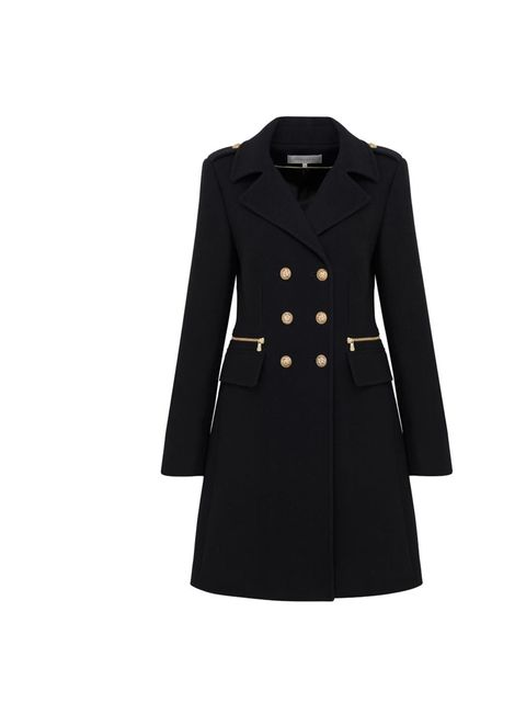 <p>Gerard Darel military jacket, £399, at Fenwick, for stockists call 0207 629 9161</p>
