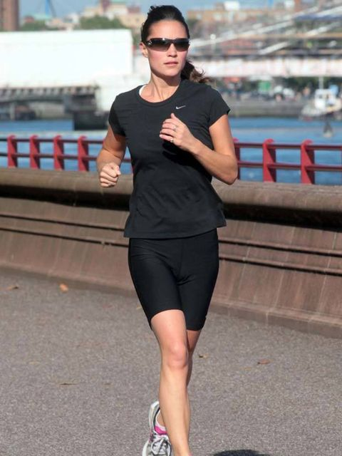 <p>Pippa works hard to maintain that envy-inducing bum. The world's most famous sister is super fit, regularly partaking in triathlons, yikes! The three discipline event combines swimming, cycling and running for a hard, all-over workout. She's a regular