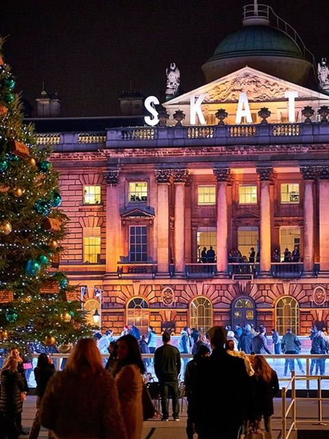 <p>POP-UP: Skate at Somerset House </p>  <p>And Christmas is officially... Go! Which means it's time to whirl, twirl and pirouette (or cling desperately to the side) at this, London's most romantic outdoor ice rink. As well as the chance to get slip-slide