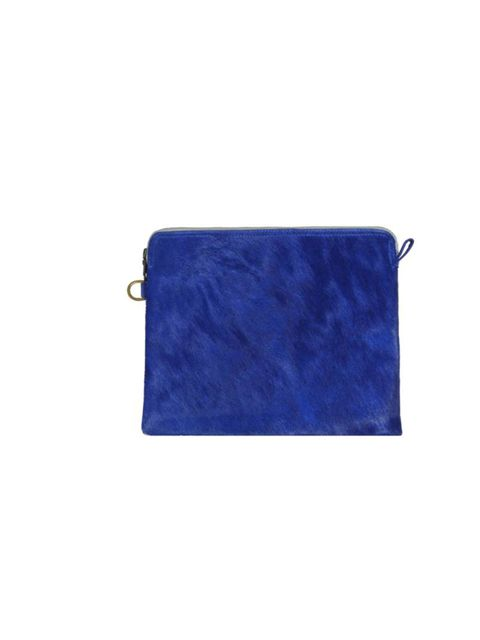 """<p>Minimalist luxury in the hottest shade of Spring Summer 2013? Perfect excuse to invest in this Jas MB clutch we think... <a href=""""http://www.jasmb.com/"""">Jas MB</a> blue textured clutch, £162</p>"""