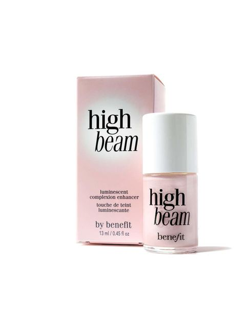"<p><a href=""http://www.benefitcosmetics.co.uk/product/view/high-beam"">Benefit High Beam, £18.50</a></p>  <p>A cult beauty product that guarantees a light-reflecting glow. Just dab a small dot on to your cheek bones and just above your brows to perk-"