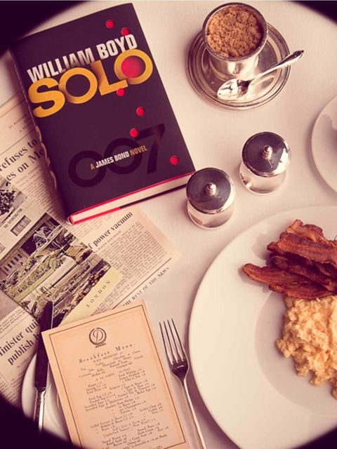 "<p><strong>Breakfast with Bond</strong> </p><p>Treat yourself to a leisurely weekend breakfast at The Grill at The Dorchester Hotel until November and enjoy the new William Boyd penned <a href=""http://www.elleuk.com/star-style/red-carpet/london-s-bond-sky"