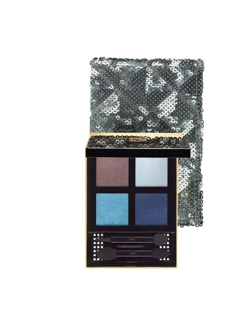 "<p><a href=""http://www.yslbeauty.co.uk/make-up/colour-collections/christmas-look-2012/pure-chromatics-collector-christmas-2012.aspx"">Yves Saint Laurent</a> Boréal Palette Arctic Night Pure Chromatics, £39.50</p>"