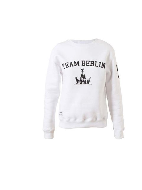 "<p>MISBHV 'Team Berlin' sweatshirt, £60 available at <a href=""http://www.brownsfashion.com/product/038522680002/028/team-berlin-cotton-sweatshirt"">Browns </a></p>"