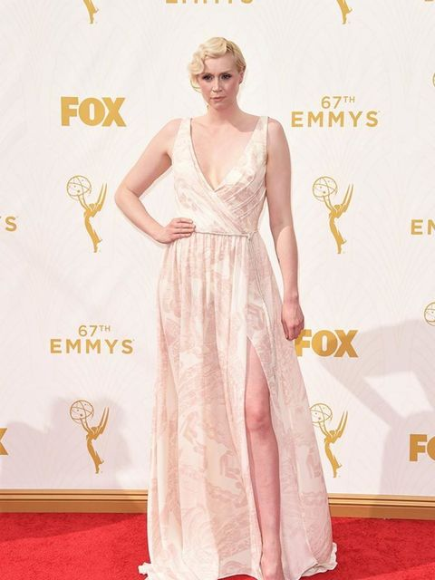 Gwendoline Christie at the Emmy Awards in LA, September 2015.