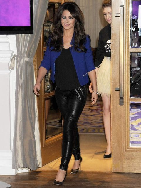 <p>Cheryl Cole at the Girls Aloud Tour Announcement</p>