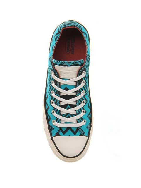 "<p>Everyday classics reincarnated in fabulous Missoni prints. </p>  <p> </p>  <p>Converse x Missoni trainers, £69.99 at <a href=""http://www.office.co.uk/view/product/office_catalog/5,20/2413192814"" target=""_blank"">Office</a></p>"