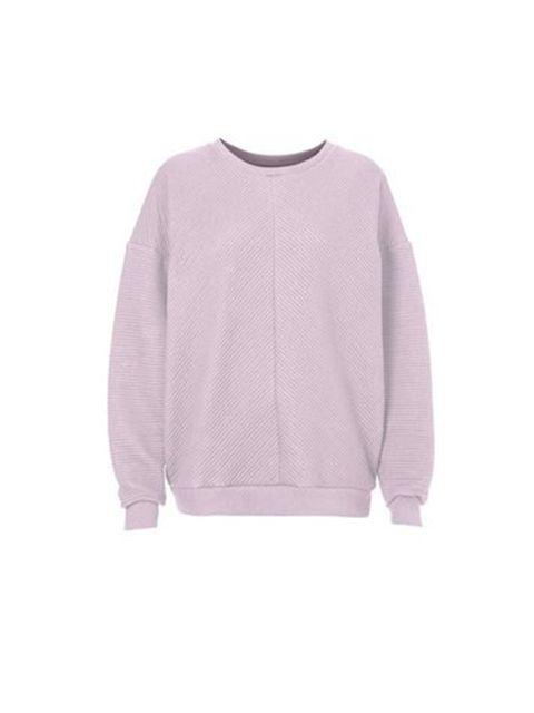 Sugar coated pastels – the best summer palette.  Topshop Boutique Sweatshirt, £45