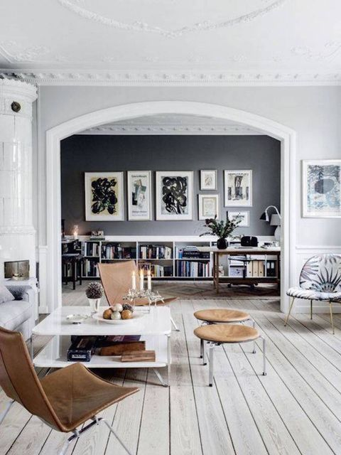"<p>A grand design of course, with the black feature wall perfectly framed by the interior arch -&nbsp&#x3B;<a href=""http://domino.com/things-you-home-doesnt-need/story-image/57041e812df7fbe00e8b45d1/image/57041e812df7fbe00e8b45d1"" target=""_blank"">Domino</a>&nb"