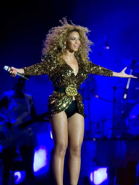 <p>Back in June Beyonce took on her biggest challenge to date - headlining Glastonbury. There may have been doubters but she quietened them all. The hair! The legs! The sequins! We loved.</p>