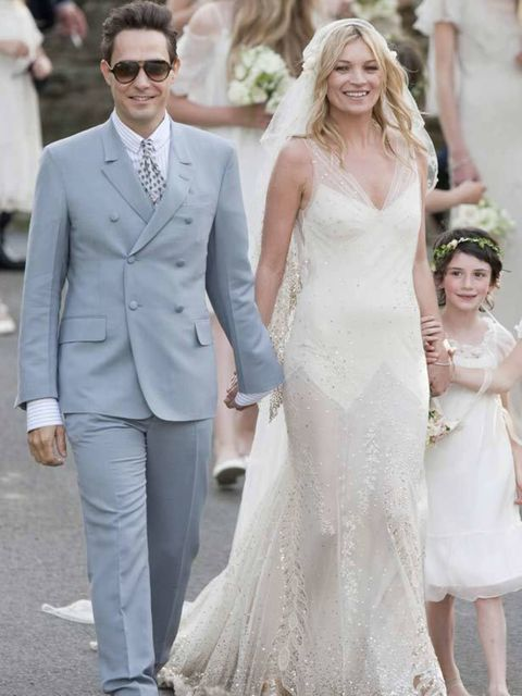 "<p>Fashion fans sighed a collective 'Aaah' when <a href=""http://www.elleuk.com/starstyle/style-files/(section)/Kate-Moss"">Kate Moss</a> made her way down the aisle this summer to marry Kills front man Jamie Hince. Between her beaming smile and stunning Ze"