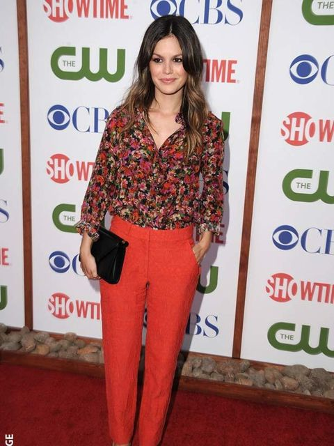 """<p><a href=""""http://origin.elleuk.com/starstyle/style-files/(section)/rachel-bilson"""">Rachel Bilson</a> wears an <a href=""""http://origin.elleuk.com/catwalk/collections/erdem/autumn-winter-2011"""">Erdem</a> blouse to the CBS,The CW And Showtime TCA Party at The"""