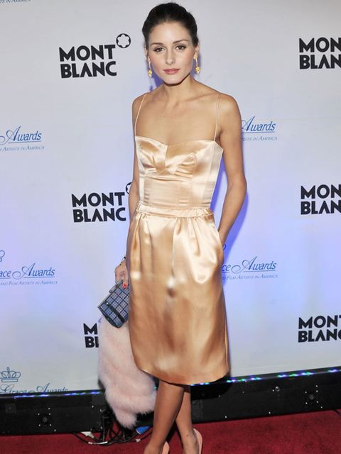 """<p><a href=""""http://www.elleuk.com/starstyle/style-files/(section)/olivia-palermo"""">Olivia Palermo</a> wearing a <a href=""""http://www.elleuk.com/catwalk/collections/rochas/"""">Rochas</a> dress with <a href=""""http://www.elleuk.com/content/search?SearchText=charl"""
