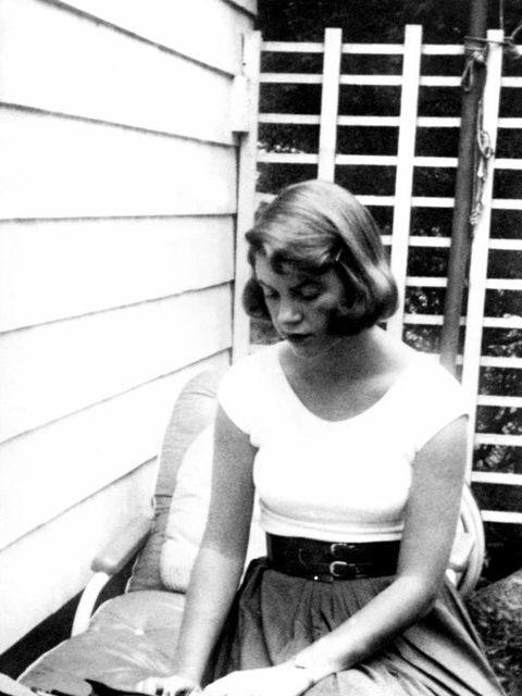 <p>Poet and novelist, Sylvia Plath</p>