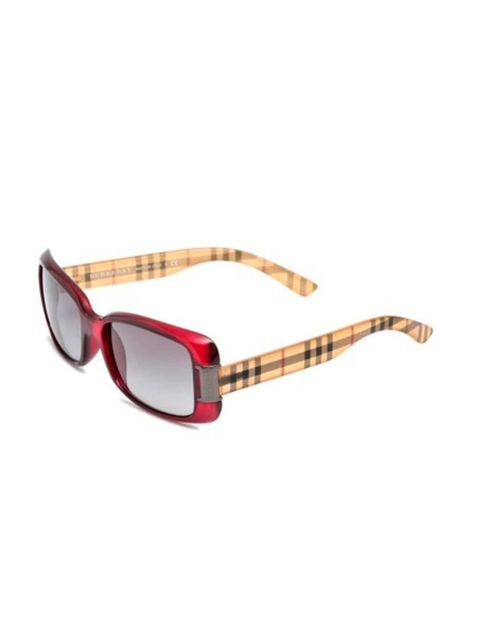 "<p>Burberry sunglasses, available at <a href=""http://www.monnierfreres.co.uk/gbuk/sunglasses/squared-frames/acetate-sunglasses_p10936618.html"" target=""_blank"">Monnier Fr&egrave;res</a>, &pound;131<br /> &nbsp;</p>"