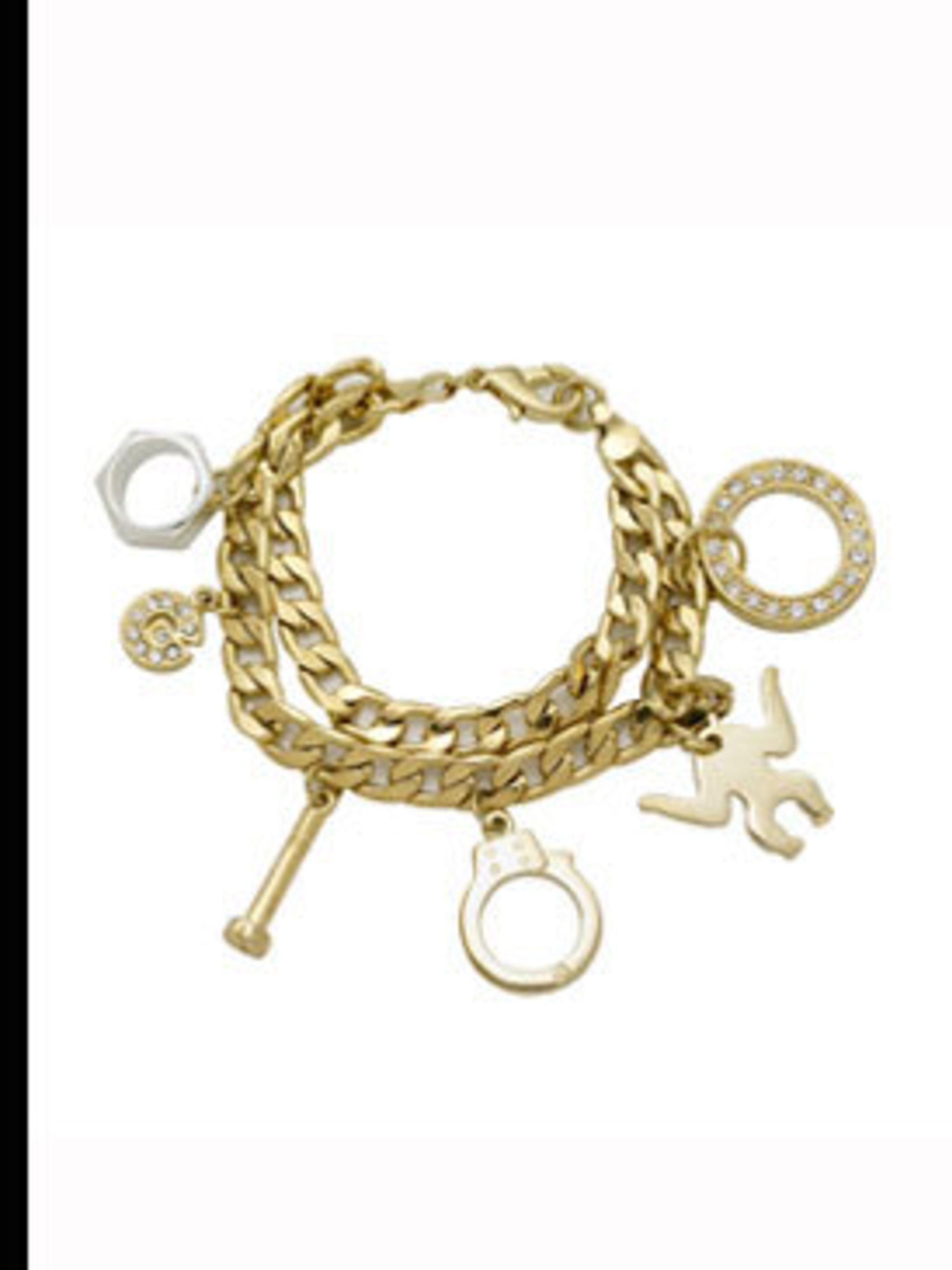 <p>Charm Bracelet, £6 from Giles for New Look 0500 45 094</p>