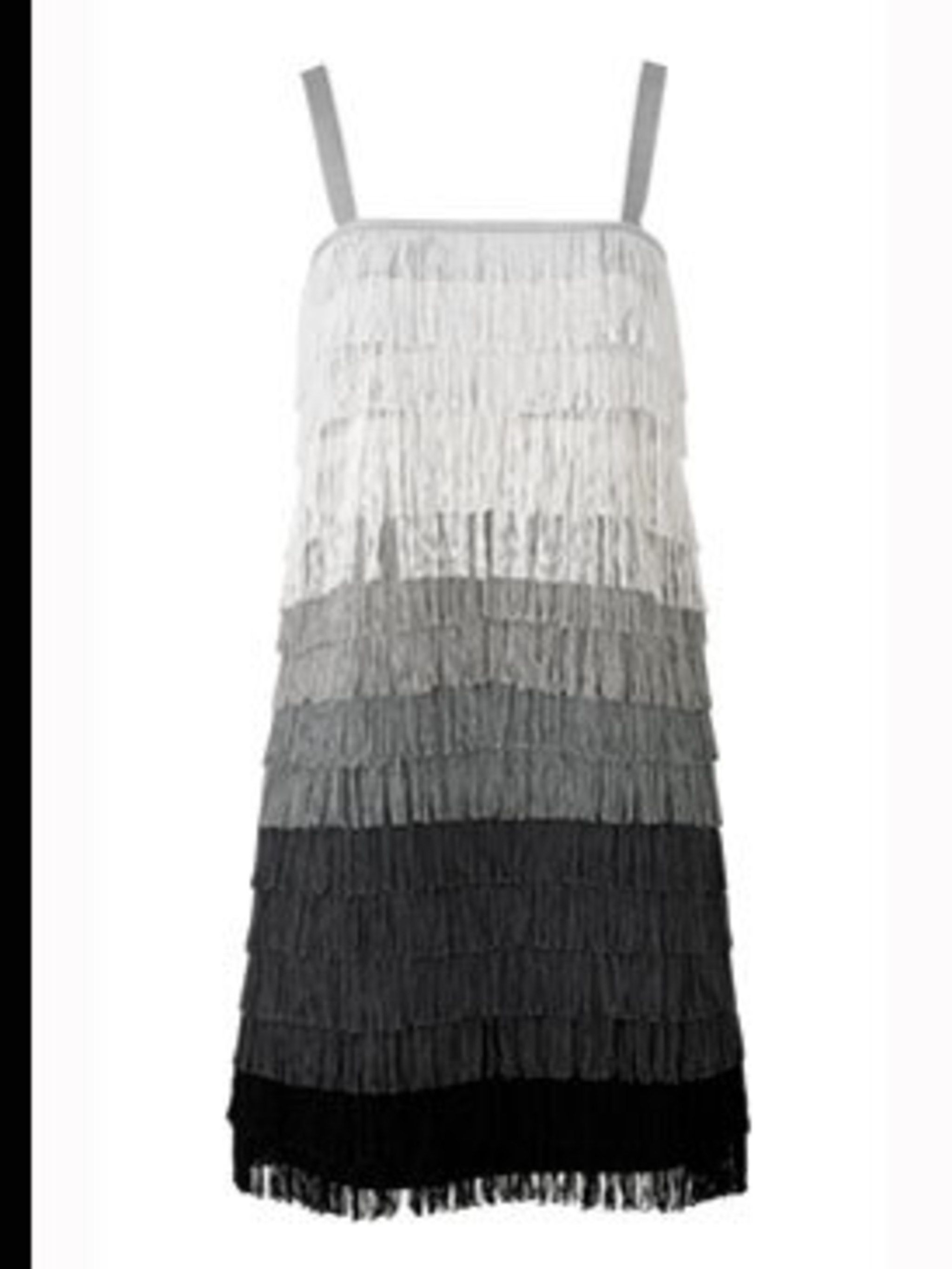 <p>Tassel Tiered Dress, £40 from Giles for New Look 0500 45 094</p>
