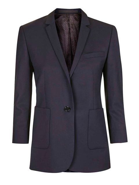 <p>A boyish, looser-fitting suit still looks smart but is much more modern (and bonus points for being so comfortable)</p>