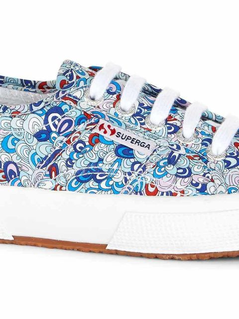 """<p>Superga x Liberty</p><p>Two iconic brands come together for a spring summer pairing, the classic shoe gets a sloral redesign with 4 exclsuive Liberty prints.</p><p>Available at Schuh and <a href=""""https://www.superga.co.uk/browse/Womens/c-Designer"""
