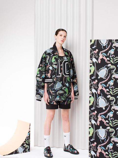 <p>Puma x Swash </p>  <p>Sports brand of the moment Puma has teamed up with London based print and fashion house SWASH London for the second season running. Famed for thie bold and detailed sketches, Puma has had an arty injection to their spring summrer