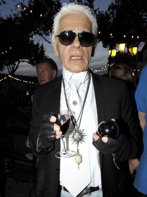 <p>Karl Lagerfeld </p>
