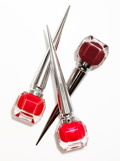 "<p><a href=""http://www.selfridges.com/GB/en/cat/christian-louboutin-edgypopi-nail-colour_680-10145-8051000K314"" target=""_blank"">Christian Louboutin Edgypopi Nail Colour, £36 each.</a></p>  <p>You can't go wrong with red. And you definitely can't go wrong"
