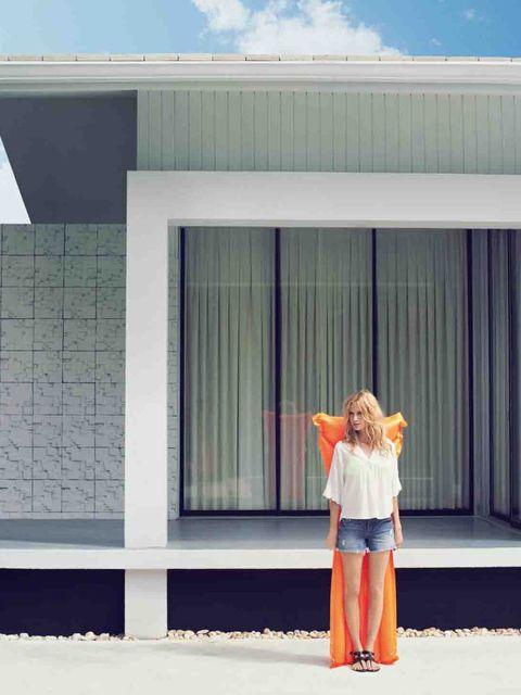 <p>Poppy Delevingne for Vero Moda, high summer 2013</p>