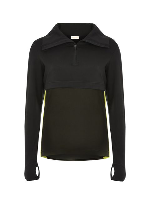 "<p><a href=""http://www.riverisland.com/women/t-shirts--vests/sweatshirts/ri-active-grey-workout-hoodie-685431"" target=""_blank"">RI Active zip top</a>, £38</p>"