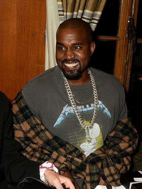 Kanye West attends the Roksanda 10 Year Anniversary Dinner, Paris.