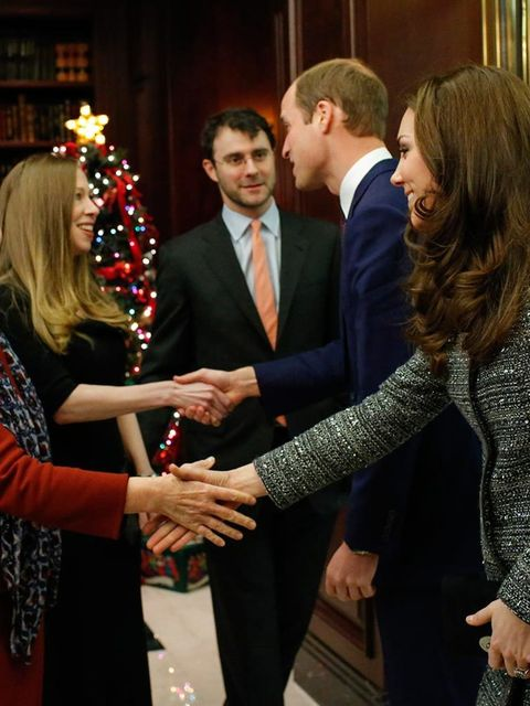 <p>2. When Hillary Clinton made THIS face on greeting the royal couple.</p>