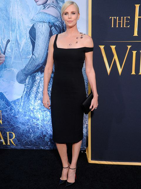 Charlize Theron at the premiere of The Huntsman: Winters War in California, April 2016.