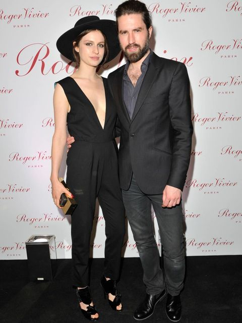 <p>Tali Lennox and Jack Guinness</p>