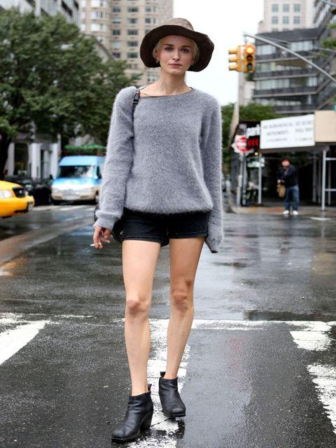 <p>New York Street Style Spring Summer 13</p>