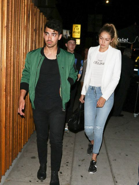 Joe Jonas and Gigi Hadid (aka GI.JOE) out and about in LA, August 2015.